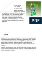 PROCESOS DE FORJADO