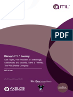 Disney Itil Journey