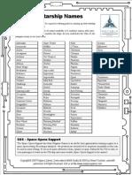 101 Starship Names
