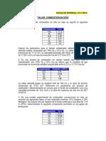 Calculo de los parametros de combustion en sitio