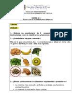 nutricion tarea