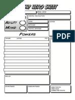 BASH UE Character Sheet and Quick Build Sheet