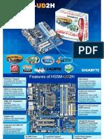 Gigabyte GA-H55M-UD2H motherboard