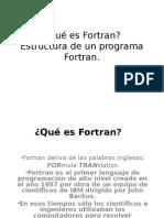 Estructura de Un Programa Fortran