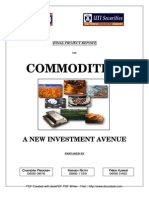 Commodity Project