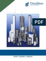 Donaldson Ultra Filter Process Filtration Brochure Espanol