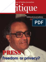 Critique- Justice PB Sawant