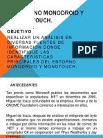 Entorno Monodroid y Monotouch  (xamarin)