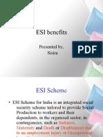 ESI Benefits