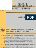 Safety Officer- ROLES & RESPONSIBILITIES