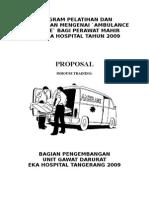 Proposal Ambulance Service S6p6