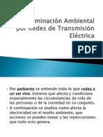 Contaminación Ambiental Por Redes de Transmisión Eléctrica