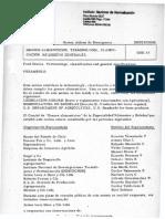 Norma Chilena de Emergencia. Granos Alimenticios. Terminologia. Clasiicacion, Requisitos Generales