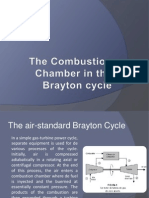 The Combustion Chamber in the Brayton Cyclef
