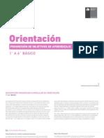 Progresion de OA - Orientación