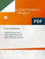 Digital Electronics on seven segment display decoder