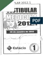 Prova Med Estacio 2012.1
