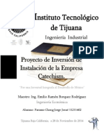 Proyecto de Inversión de Instalación de La Empresa Catechism (2)