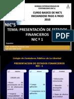 NIC 1 CPC Guillermo Pesantes Luna