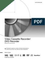 Mu Grabador Dvd-Vcr Sony Rdr-Vx420