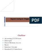 input/output organisaion of computer architecture