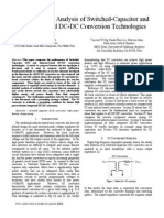 A Comparative Analysis of Switched-Capacitor and Inductor-Based DC-DC Conversion Technologies