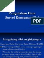 Pengolahan Data Survei Konsumsi Gizi 2014