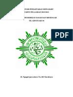 Cover Formulir Pendaftaran Siswa Baru