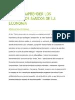 Cómo Comprender Los Conceptos Básicos de Economía