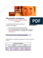 Mi Gramática Portuguesa