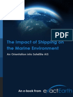 Impact of shipping on maritime environment