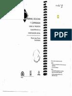 Fortino Vela. Un acto metodológico básico de la investigación social