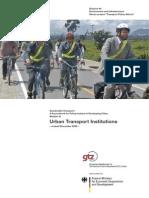 GTZ - Urban Transport Institutions 2004