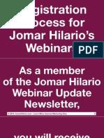 UPDATED Webinar Registration Process Jomarhilario