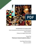Patrimonio Cultural Inmaterial en México.