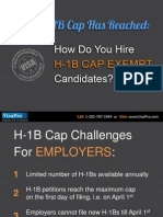 How To Hire H1B Workers After Cap Has Reached?