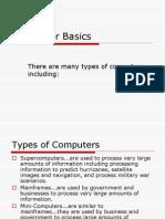 Computer-Basics--CTE I - Computer Basics