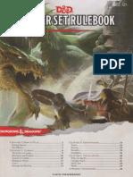 DnD Starter Set Rulebook