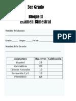 3er Grado - Bloque 2 (2013-2014)