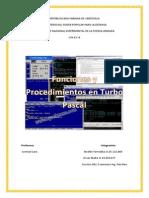 Funciones y procedimientos en turbo pascal