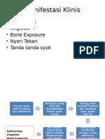 Patifisiologi Dan Manifestasi Klinis Fraktur Tulang