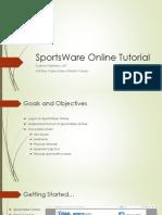 sportsware onlinetutorial