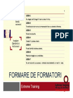 Suport Curs Formator Extreme Training