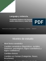 Lenguaje y Violencia