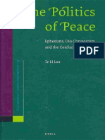 (Supplements to Novum Testamentum 133) Te-Li Lau-The Politics of Peace_ Ephesians, Dio Chrysostom, and the Confucian Four Books-Brill (2009).pdf