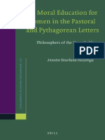 (Supplements to Novum Testamentum 147) Annette Bourland Huizenga-Moral Education for Women in the Pastoral and Pythagorean Letters_ Philosophers of the Household.pdf