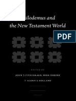 John T. Fitzgerald, Dirk Obbink, Glenn Stanfield Holland Eds Philodemus and the New Testament World Supplements to Novum Testamentum 2004.pdf
