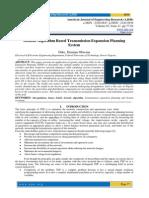 Genetic Algorithm Based Transmission Expansion Planning System
