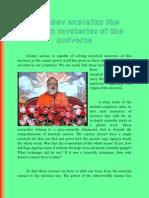 Gurudev Explains the Hidden Mysteries of the Universe