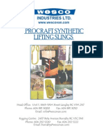 Procraft Synthetic Webbing Slings
